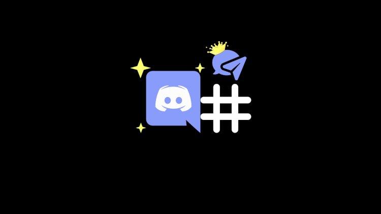 Discord Hashtag Değiştirme